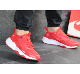 Купить Мужские кроссовки Nike Air Huarache x Fragment Design красные в Украине
