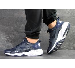 Купить Мужские кроссовки Nike Air Huarache x Fragment Design темно-синие