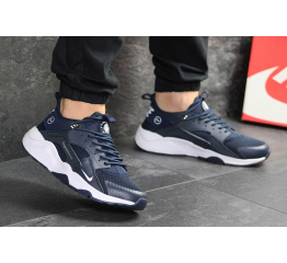 Купить Чоловічі кросівки Nike Air Huarache x Fragment Design темно-сині в Украине