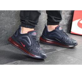 Мужские кроссовки Nike Air Max 720 темно-синие с красным