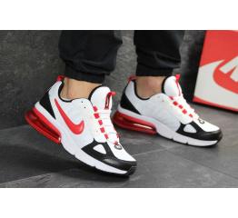 Купить Мужские кроссовки Nike Air Max белые с красным в Украине