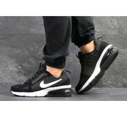 Купить Мужские кроссовки Nike Air Max черные с белым