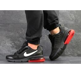 Купить Мужские кроссовки Nike Air Max черные с красным