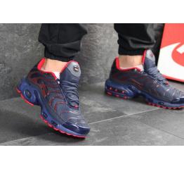 Купить Мужские кроссовки Nike Air Max Plus TN синие с красным в Украине