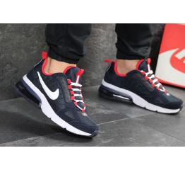 Купить Мужские кроссовки Nike Air Max темно-синие с красным в Украине