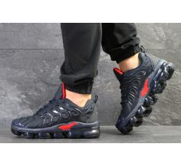 Мужские кроссовки Nike Air Vapormax Plus темно-синие с красным