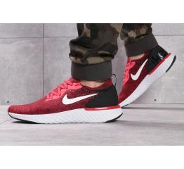 Мужские кроссовки Nike Epic React Flyknit красные