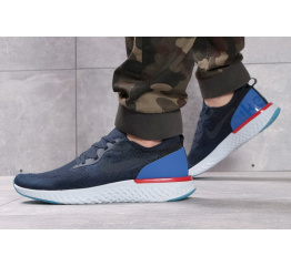 Мужские кроссовки Nike Epic React Flyknit темно-синие