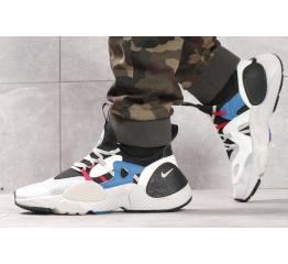 Купить Чоловічі кросівки Nike Huarache E.D.G.E. білі з чорним и голубым