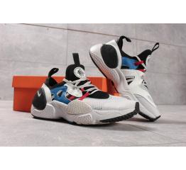Мужские кроссовки Nike Huarache E.D.G.E. Белые с черным и голубым