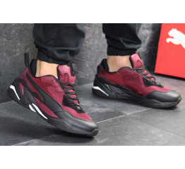 Купить Чоловічі кросівки Puma Thunder Spectra бордові в Украине