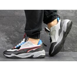 Мужские кроссовки Puma Thunder Spectra серые с черным