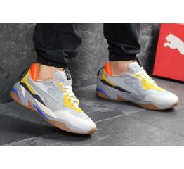 Купить Мужские кроссовки Puma Thunder Spectra серые с желтым в Украине