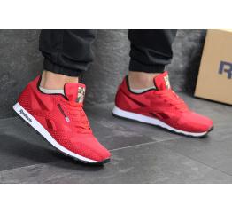 Купить Мужские кроссовки Reebok Classic Runner Jacquard красные в Украине