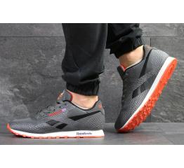Купить Мужские кроссовки Reebok Classic Runner Jacquard серые с черным