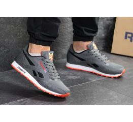 Купить Мужские кроссовки Reebok Classic Runner Jacquard серые с черным в Украине