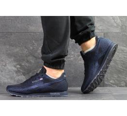 Купить Мужские кроссовки Reebok Classic Runner Jacquard темно-синие