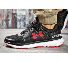 Купить Мужские кроссовки Under Armour Dash RN 2 черные с красным