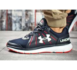 Купить Мужские кроссовки Under Armour Dash RN 2 темно-синие с красным