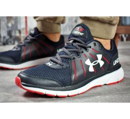 Купить Мужские кроссовки Under Armour Dash RN 2 темно-синие с красным в Украине