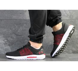Купить Мужские кроссовки Under Armour HOVR Sonic черные с красным