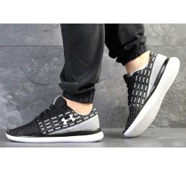 Купить Мужские кроссовки Under Armour Threadborne Slingflex черные с белым