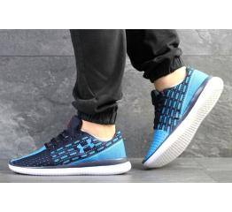 Купить Мужские кроссовки Under Armour Threadborne Slingflex синие с голубым