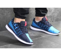 Купить Мужские кроссовки Under Armour Threadborne Slingflex синие с голубым в Украине