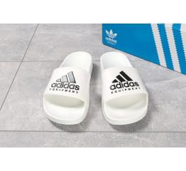 Купить Мужские шлепанцы Adidas белые в Украине