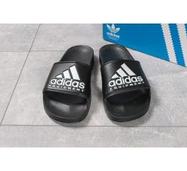 Купить Мужские шлепанцы Adidas черные в Украине