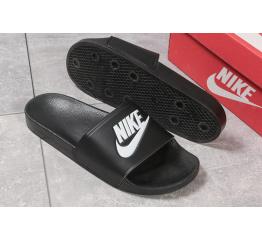 Мужские шлепанцы Nike черные