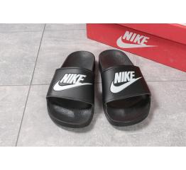 Купить Мужские шлепанцы Nike черные в Украине
