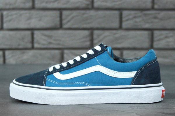 Женские кеды Vans Old Skool синие
