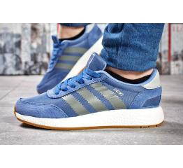 Женские кроссовки Adidas Iniki синие