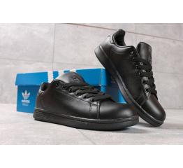 Купить Жіночі кросівки Adidas Stan Smith чорні в Украине