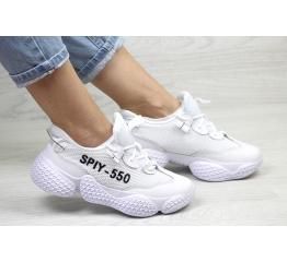 Женские кроссовки Adidas Yeezy SPIY-550 белые