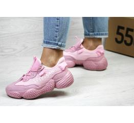 Женские кроссовки Adidas Yeezy SPIY-550 розовые