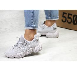 Женские кроссовки Adidas Yeezy SPIY-550 серые