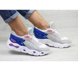 Купить Жіночі кросівки Balenciaga сірі з синім