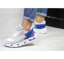 Купить Жіночі кросівки Balenciaga сірі з синім в Украине