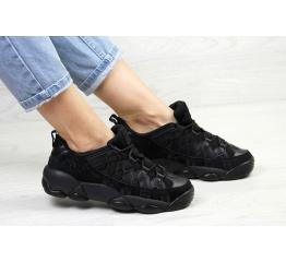Женские кроссовки Fila Spagetti Low черные