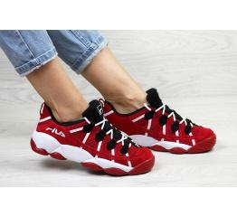 Купить Жіночі кросівки Fila Spagetti Low червоні в Украине