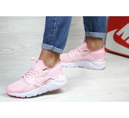 Женские кроссовки Nike Air Huarache розовые