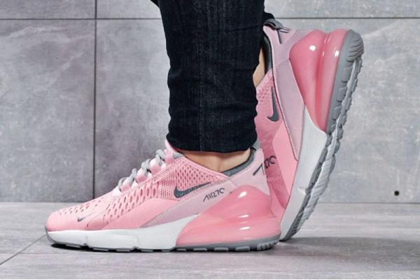 Женские кроссовки Nike Air Max 270 розовые