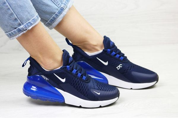Женские кроссовки Nike Air Max 270 темно-синие