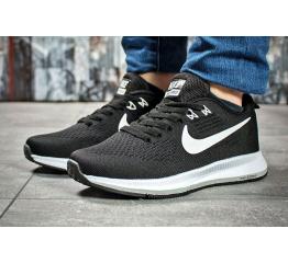 Женские кроссовки Nike Air Zoom Pegasus черные с белым