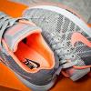 Женские кроссовки Nike Air Zoom Pegasus серые с розовым