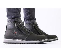 Мужские ботинки Ecco черные