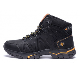 Мужские ботинки на меху Columbia черные
