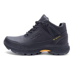 Мужские ботинки на меху Ecco Biom Active Drive черные